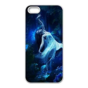 WJHSSB Diy Night Fairy Selling Hard Back Case for Iphone 5 5g 5s
