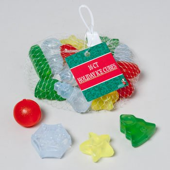 DDI Christmas Shaped Plastic Ice Cubes