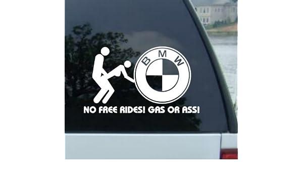 No Libre Rides adhesivo para BMW M3, M5, M6 x3 x5 x6 Z3 Z4 Z8 2002 1 3 5 6 7 8 Series 318 320 323 325 328 330 335 Twin Turbo ...
