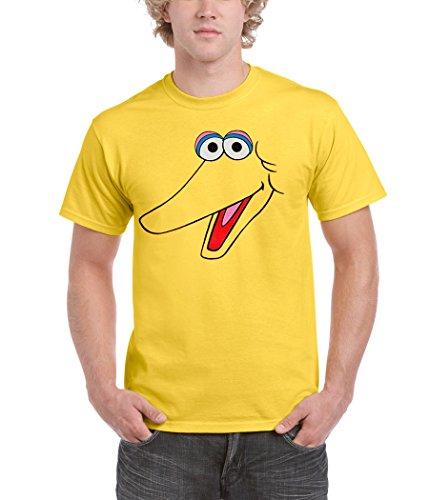 Big Bird Face Adult T-Shirt