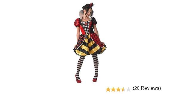 Rubies - Disfraz oficial de Alicia en el País de las Maravillas, reina roja Sally para adulto, talla grande: Amazon.es: Juguetes y juegos
