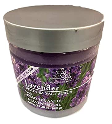 Dead Sea Lavender Salt Scrub Body Nurturing Salts & Essential Oils