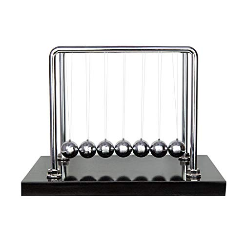 Classic Newtons Cradle Balance 7 Balls High Quantity Science Psychology Puzzle Desk Fun Gadget - Large