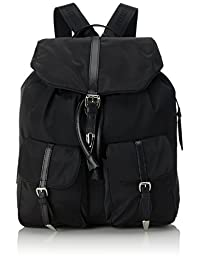 Backpack Piero Guidi | Linea Bold | Daytime Bold | Nylon | Black