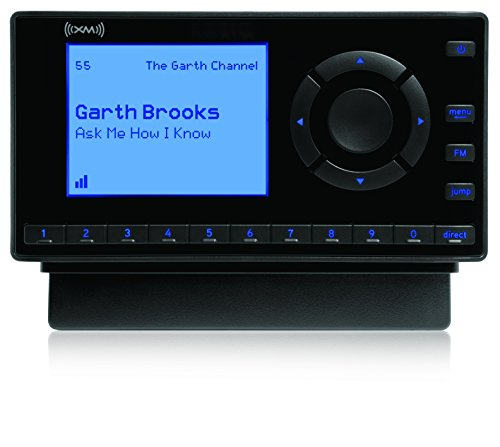 SiriusXM- XEZ1H1 Onyx EZ Satellite Radio with Home Kit- Black by SiriusXM