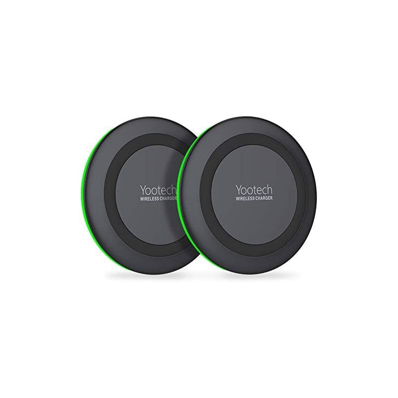Yootech [2 Pack] Wireless Charger Qi-Cer