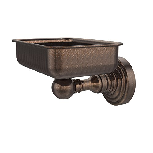 Allied Brass WP-32-VB Waverly Place Collection Wall Mounted Soap Dish, Venetian Bronze