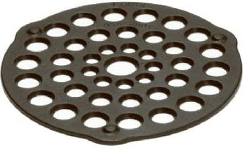 Lodge L8DOT3 Cast Iron Meat Rack/Trivet, Pre-Seasoned, 8-inch