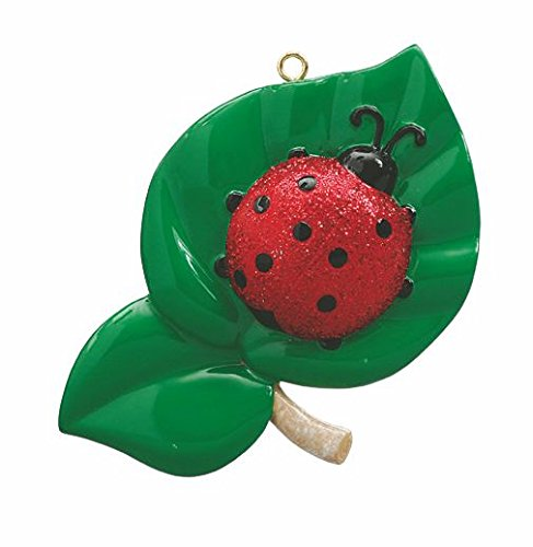 Ladybug Personalized Christmas Ornament-Free Personalization and Gift Bag Included