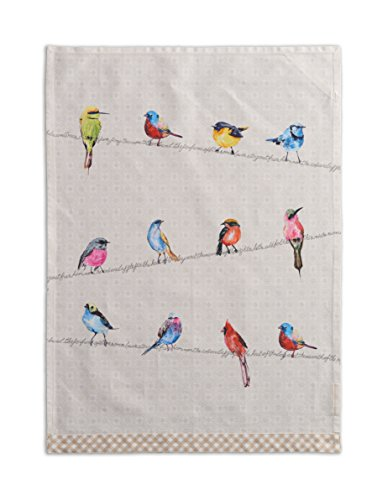 - Maison d' Hermine Birdies On Wire 100% Cotton Set of 2 Kitchen Towels, 20 - inch by 27.5 - inch.