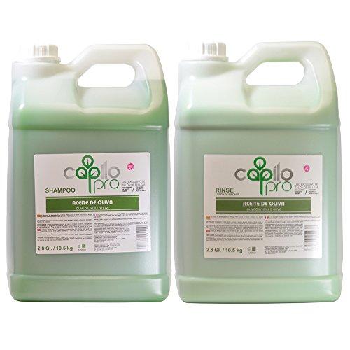 Capilo Pro Olive Oil (Aceite De Oliva) Shampoo & Rinse 2.8gal / 10.5kg