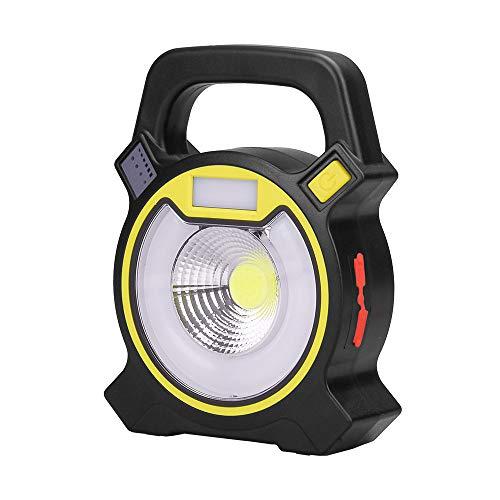 15W 24 LED Super Bright Rechargeable Work Lights with 3 Modes(High/Low/Strobe) 360 Degree Rotating Design to Meet Kinds of Lighting Needs and Emergency SOS Mode by Beyimei