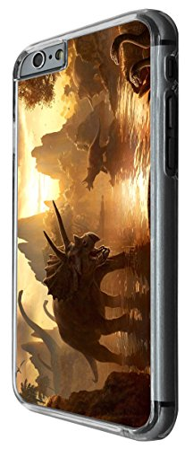 1055 - Cool fun dinosaur art t-rex triceratops stegosaurus spinosaurus (3) Design For iphone 5 5S Fashion Trend CASE Back COVER Plastic&Thin Metal -Clear