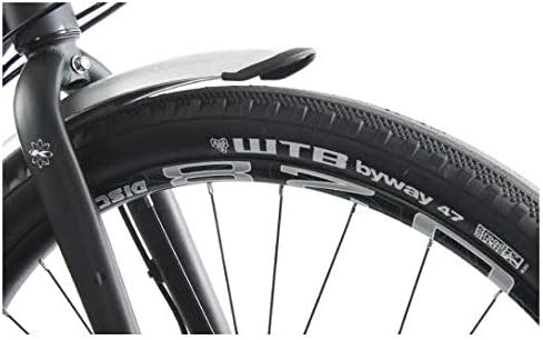Gloss Silver KHS New Urban X Commuter Unisex Bike 8-Speed Matte Black