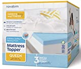 Novaform 3' EVENcor GelPlus Gel Memory Foam Mattress Topper with Cooling Cover