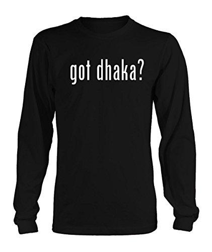 got dhaka? Adult Men's Long Sleeve T-Shirt - Various sizes & colors!