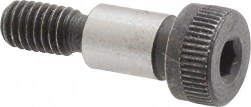 Thread: 5//16-18 -Socket Head Shoulder Diameter: 3//8 Shoulder Bolt Shoulder Screws Thermal Black Oxide Finish Nylon Patch Shoulder Length: 3-1//2 Quantity: 25 Alloy Steel Nylon Patch