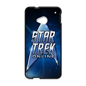 Star Trek For HTC One M7 Cases Cell phone Case Aqfd Plastic Durable Cover
