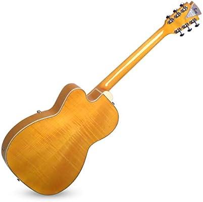 Kay K1700VB - Guitarra eléctrica de cuerpo semihueco, 6 cuerdas ...