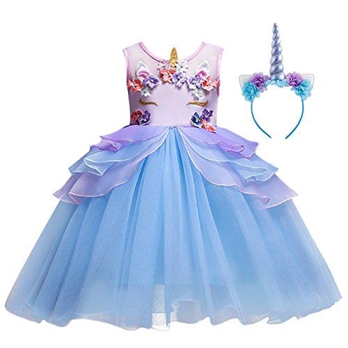 Unicorn Party Costume Cosplay Fancy Dress Princess Tutu