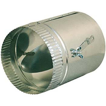 6-in Hvac Duct Manual Volume Damper with Sleeve - Ducting