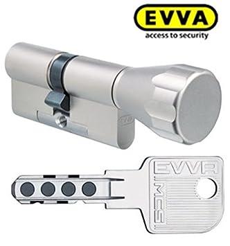 Evva Mcs Tecnología Magnética Cilindro de Pomo con 6 Llaves ...