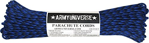 Army Universe Denim 550LB Military Nylon Paracord Rope 100 Feet by Army Universe (Image #3)