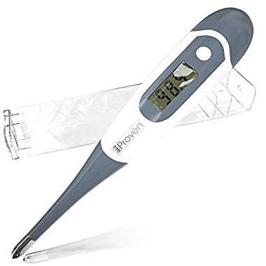 Best Digital Thermometer for Rectal, Oral and Axillary Measurement - iProvèn DT-K117A