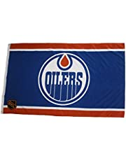 Edmonton Oilers Blue & Orange NHL Logo Large 3' x 5' Feet Flag Banner New