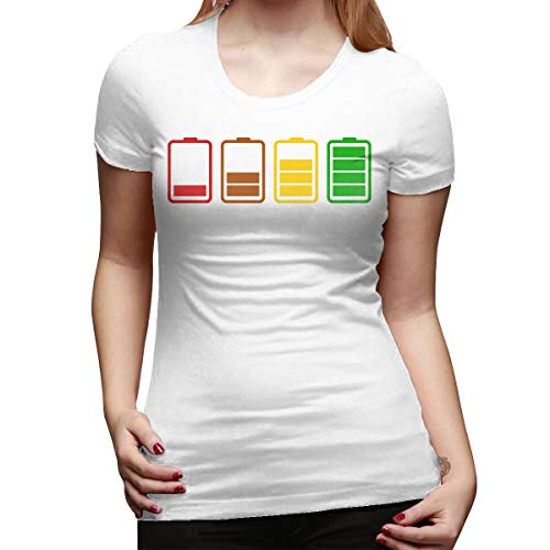 Gustave Dulles Batteries Women's Short Sleeve T Shirt Color White Size 31 ()