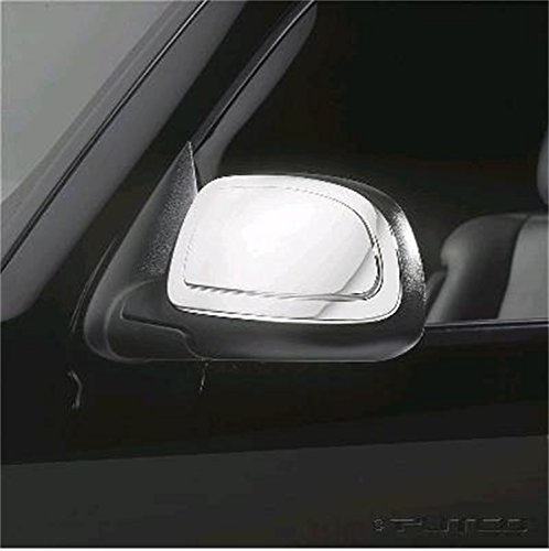 Putco 400008 Chrome Mirror Overlay for Select Cadillac/Chevrolet/GMC (Chevrolet Tahoe Putco Mirror)