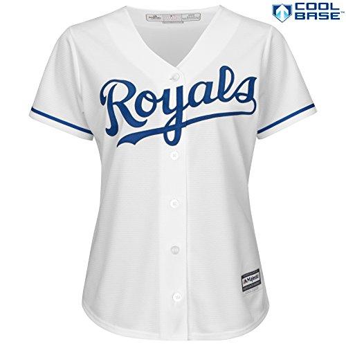 eebdad82e 50%OFF Kansas City Royals MLB Women s Cool Base Home Jersey (Small ...