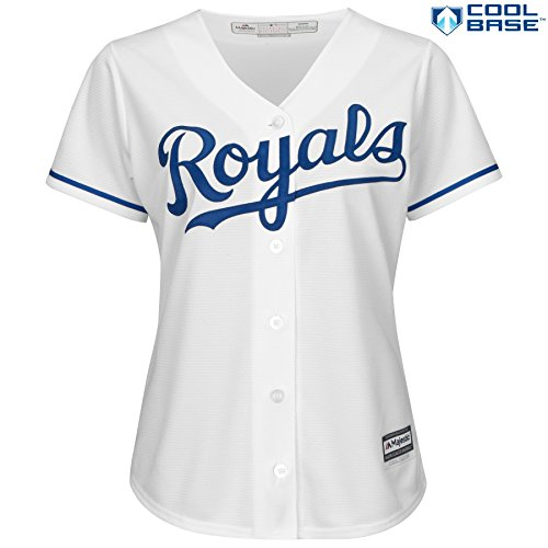 Kansas City Royals MLB Women's Cool Base Home Jersey (Kansas Jersey)