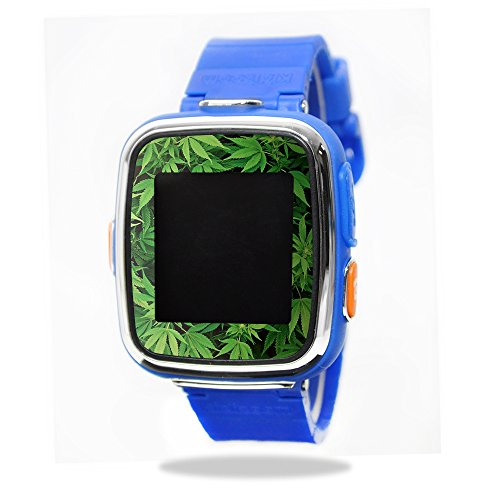 Skin Decal Wrap for VTech Kidizoom Smartwatch DX sticker Weed