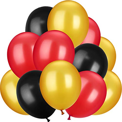 TecUnite 100 Pieces 13 inch Latex Balloons for