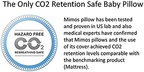 Mimos Baby Pillow XL Size XL 1-10 Airflow Safety German TUV Certification