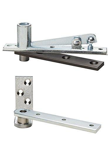 Rixson 127-3/4 626 12775 x 626 Center Hung Pivot, Aluminum ()