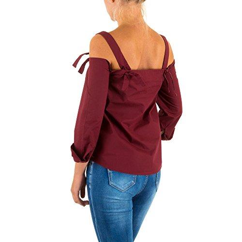 Ital-Design - Camisas - para mujer borgoña