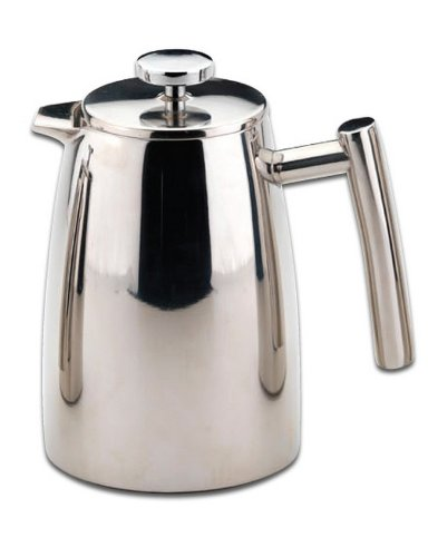 Grunwerg 50oz/1.5L Double Wall Stainless Steel French Coffee Press HFD-12 by Grunwerg