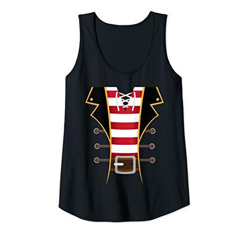 Diy Pirate Costumes For Women (Womens Pirate Buccaneer Novelty Diy Halloween Costume Woman Gift Tank)
