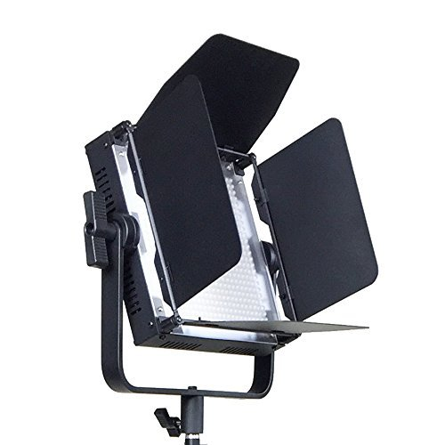 ePhotoInc Video Studio Photo Light Panels With V Mount Plate Adapter Photography Portrait Lighting Panel FST600SH by ePhotoinc