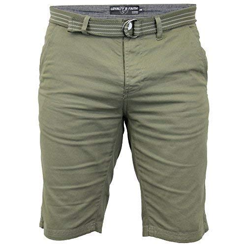 SEVEN SERIES hombre pantalones cortos chimpancé Caqui 38