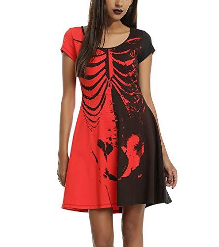 Kleid kurz rot. Kleider online shoppen. 2019-08-26