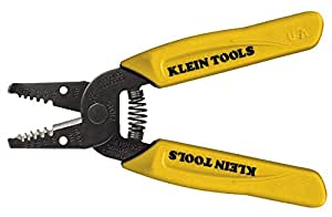 Klein Tools 11045 Wire Stripper/Cutter, Yellow