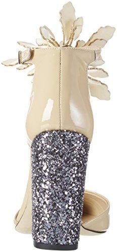 Enooba Joe EU Punta Mujer Paul para con Tacón Zapatos de amp; 37 Beige Cerrada EqHwn5Cf6