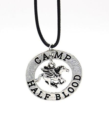 Camp Half Blood Pendant Necklace - Nautical - -