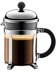 BODUM CHAMBORD 4 Cup Coffee Maker, Shiny, 500 ML