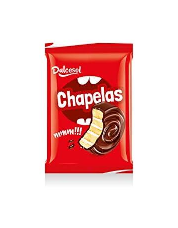 Bizcocho Bollo Pastel de chocolate y nata - Chapelas Dulcesol - Caja 2,5kg