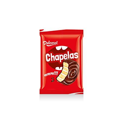 Bizcocho Bollo Pastel de chocolate y nata - Chapelas Dulcesol - Caja 2,5kg: Amazon.es: Alimentación y bebidas