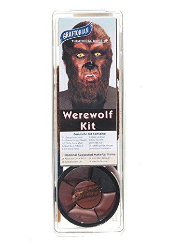 Deluxe Werewolf Makeup Kit Standard